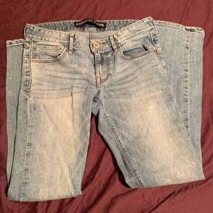 Express Jeans- skinny Stella, Low Rise, size 4s